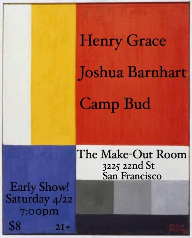 Camp Bud, Joshua Barnhart Flyer